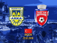 Trzecia wygrana tej zimy. Arka pokonała FC Botosani.