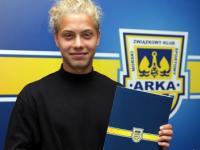 Jakub Chojnowski podpisał kontrakt z Arką