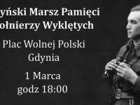 VIII Marsz Pamięci Żołnierzy Wyklętych w Gdyni