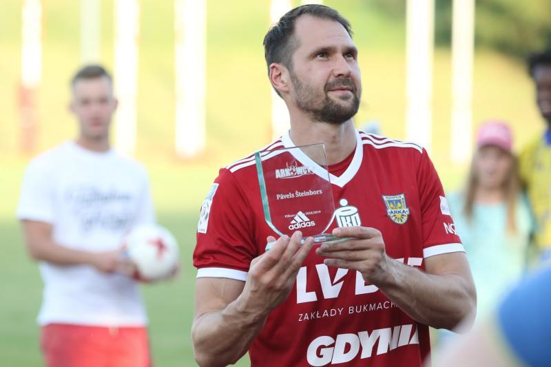 Pavels Steinbors piłkarzem sezonu 2018/19!