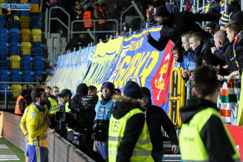 Trybuny: ARKA vs Legia Warszawa